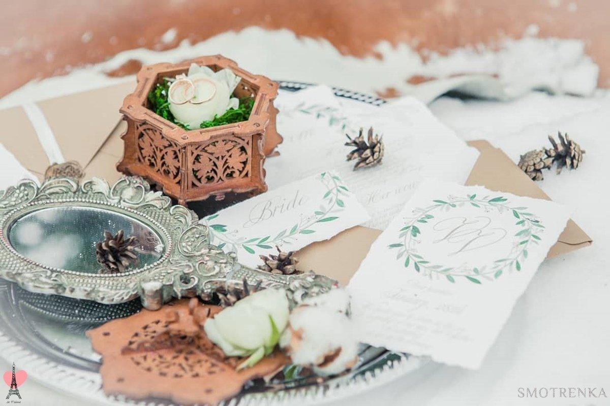 Свадебные шкатулки Je Taime
