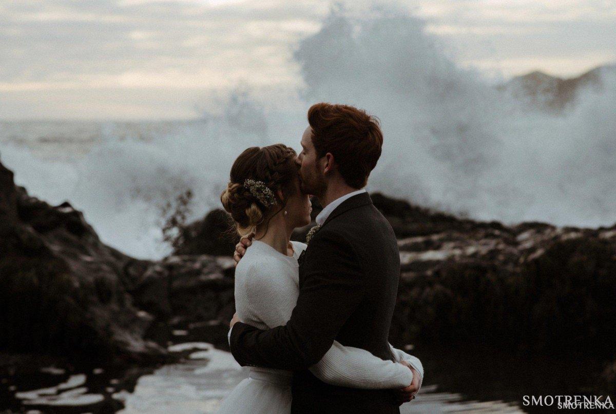 Дарья Инвентаж - свадьба в Исландии
