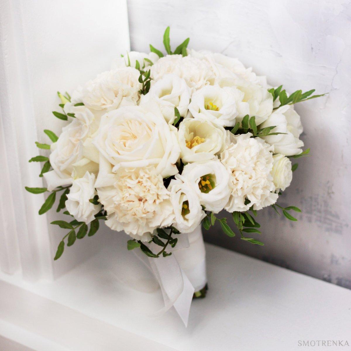 Свадебный букет роза эустома как делать фотографии