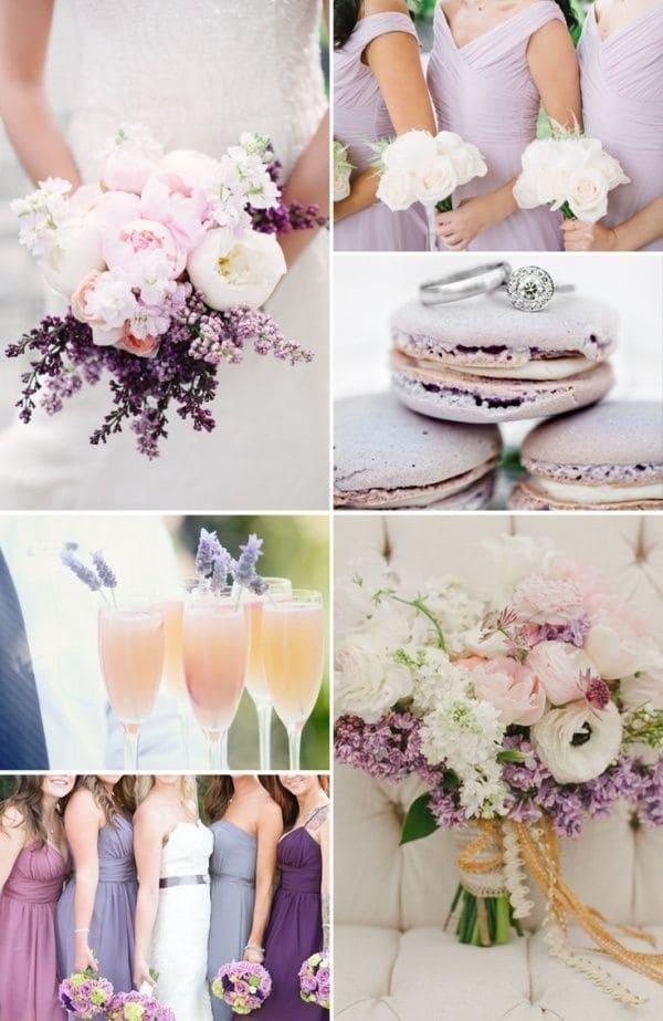 Цвет свадьбы — привлекательный тандем