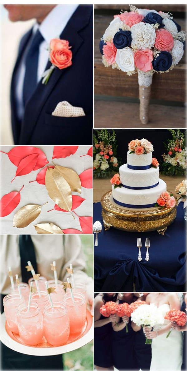 Цвет свадьбы — дерзкие и красивые