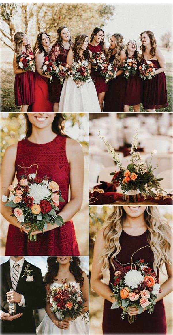 Цвет свадьбы — сочность красок