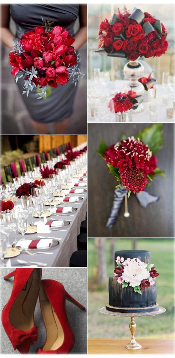 Цвет свадьбы — мощный взрыв