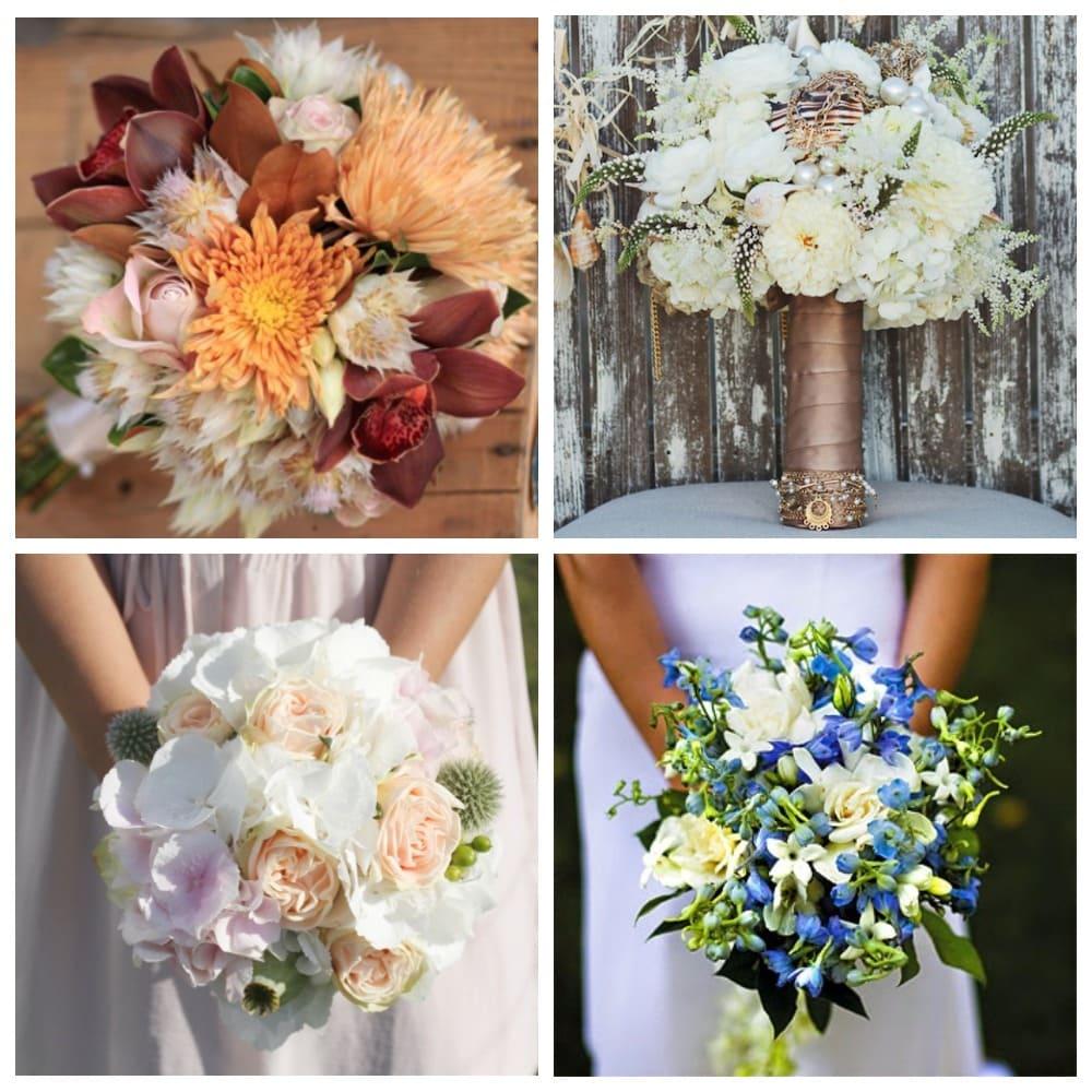 Живые цветы по времени года