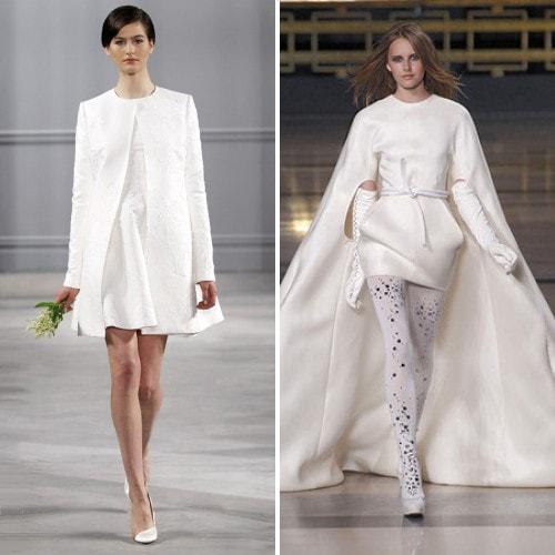 Свадебное мини-платье