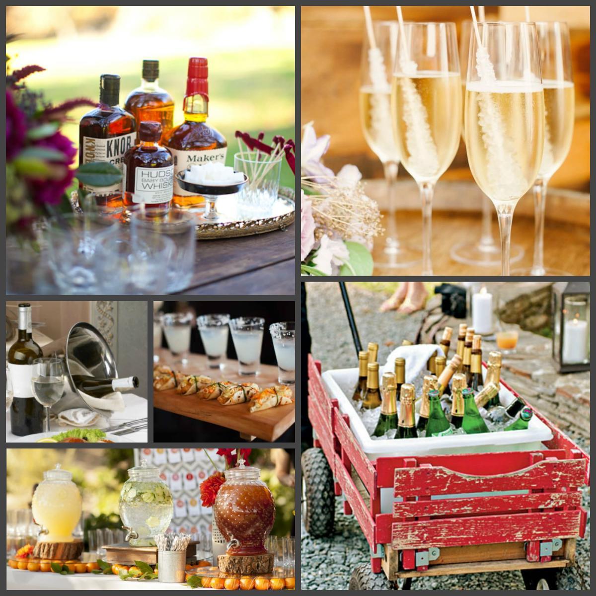 Идеи оформления алкогольных напитков