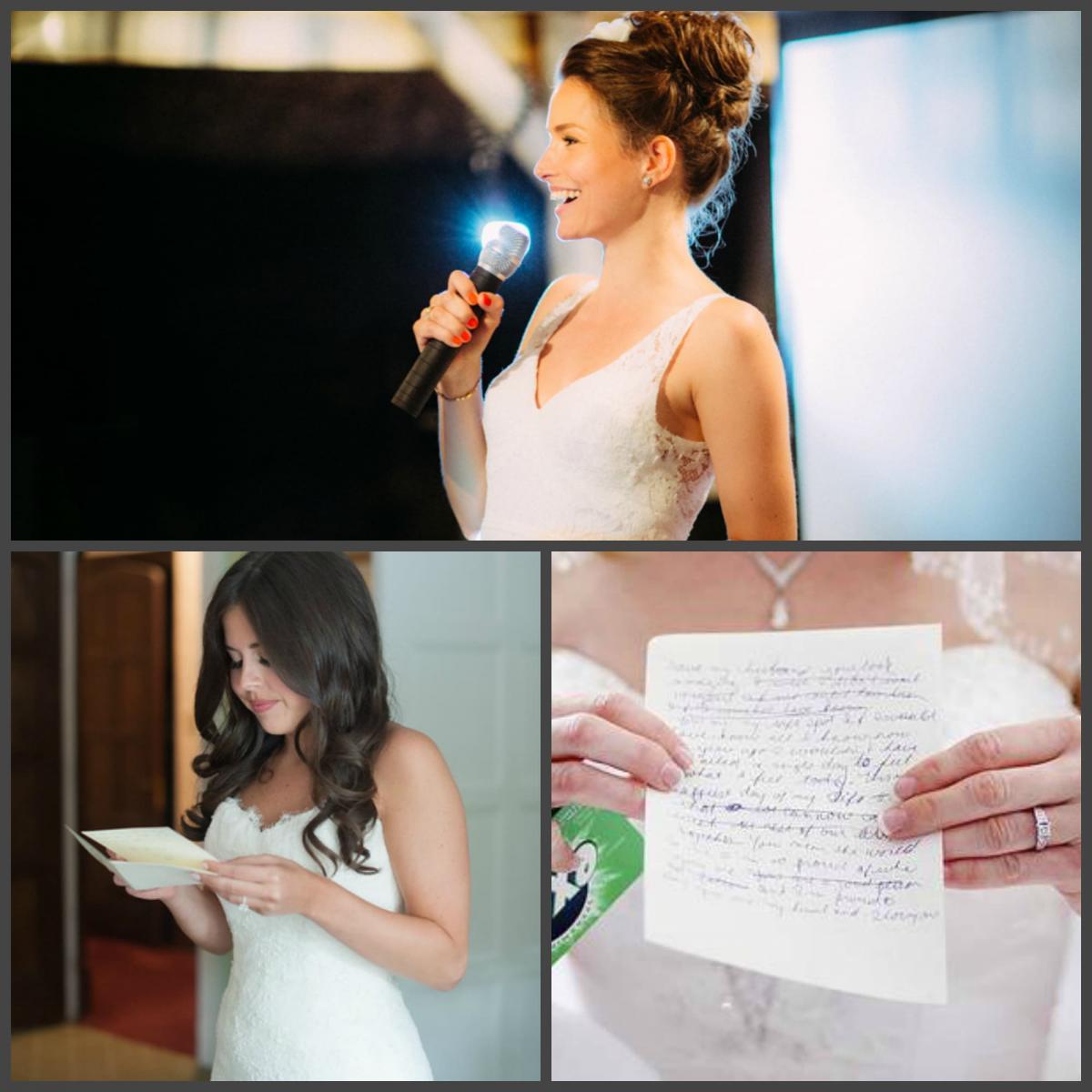 Благодарственная речь невесты
