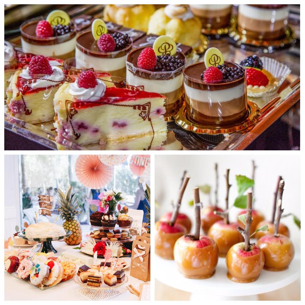Цветные идеи десертов