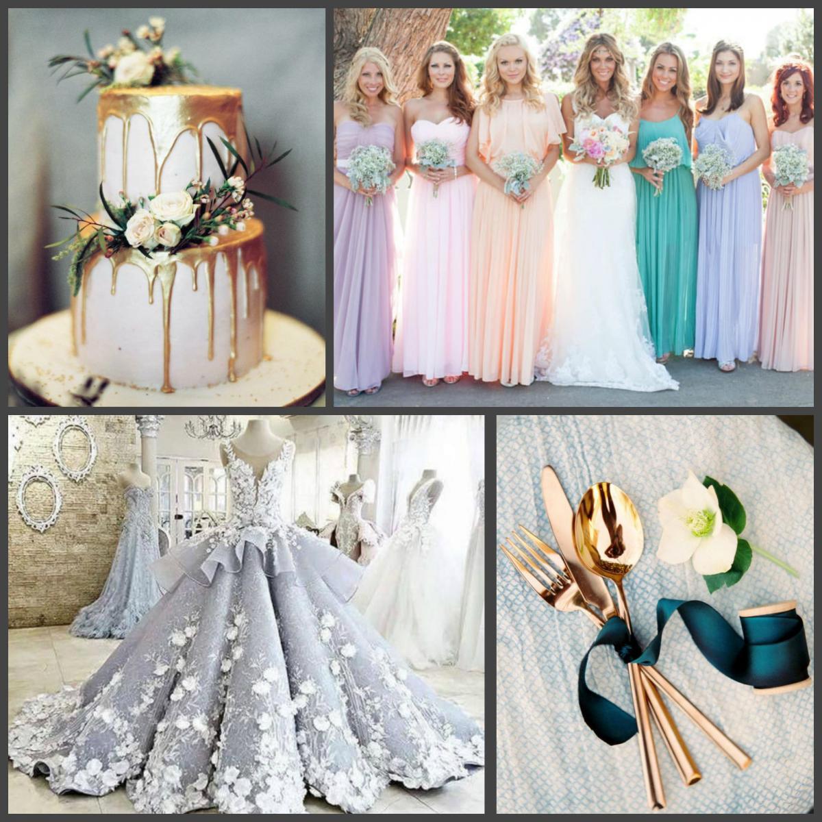 Свадебные цветовые тенденции