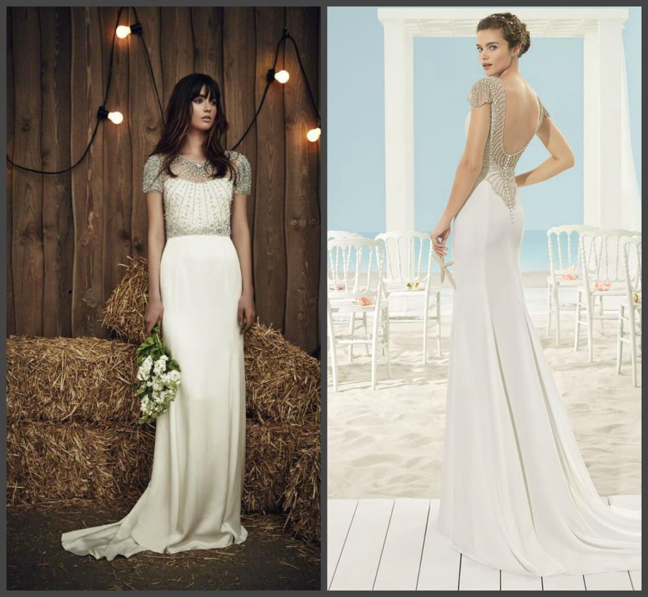 «Драгоценное» свадебное платье
