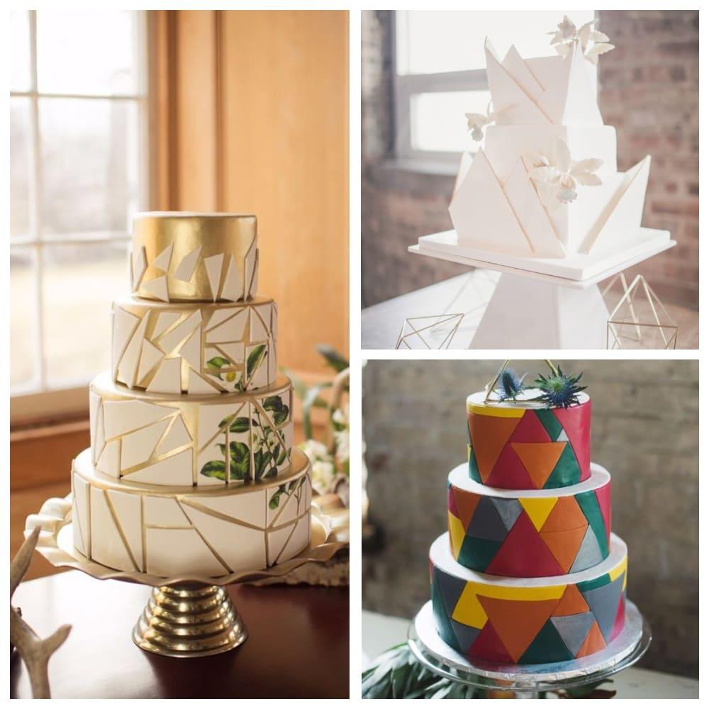 Геометрия свадебного торта