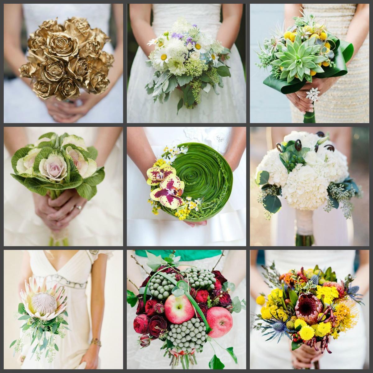 Флористические аксессуары невесты