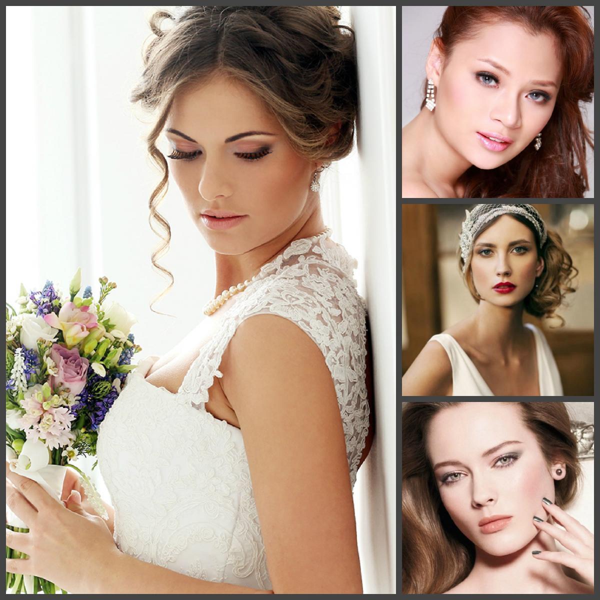 Варианты свадебного макияжа