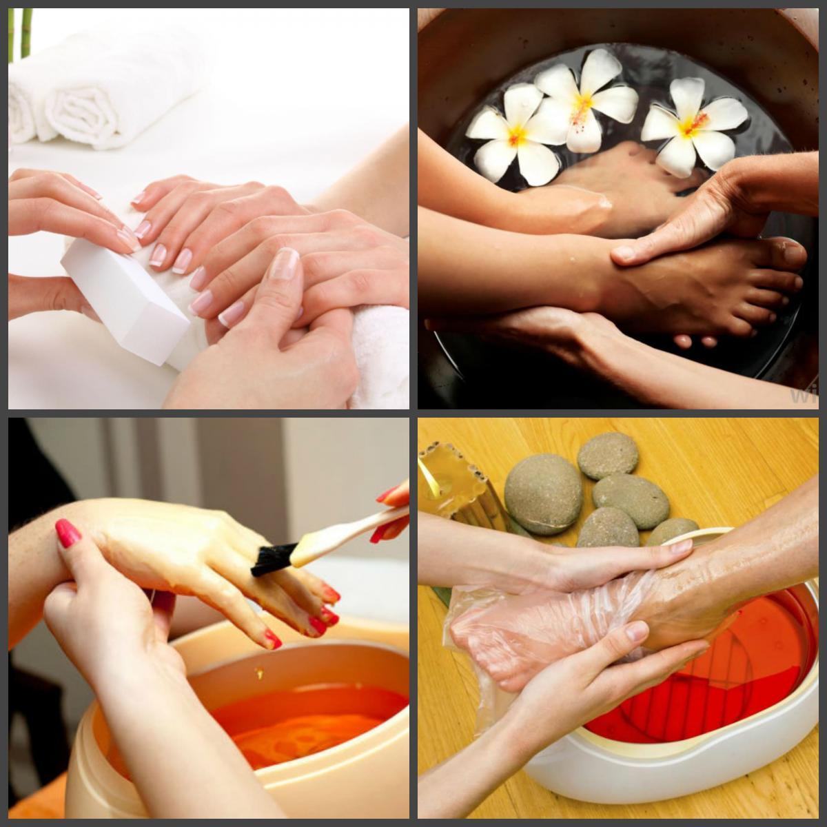 Spa процедуры за руками и ногами