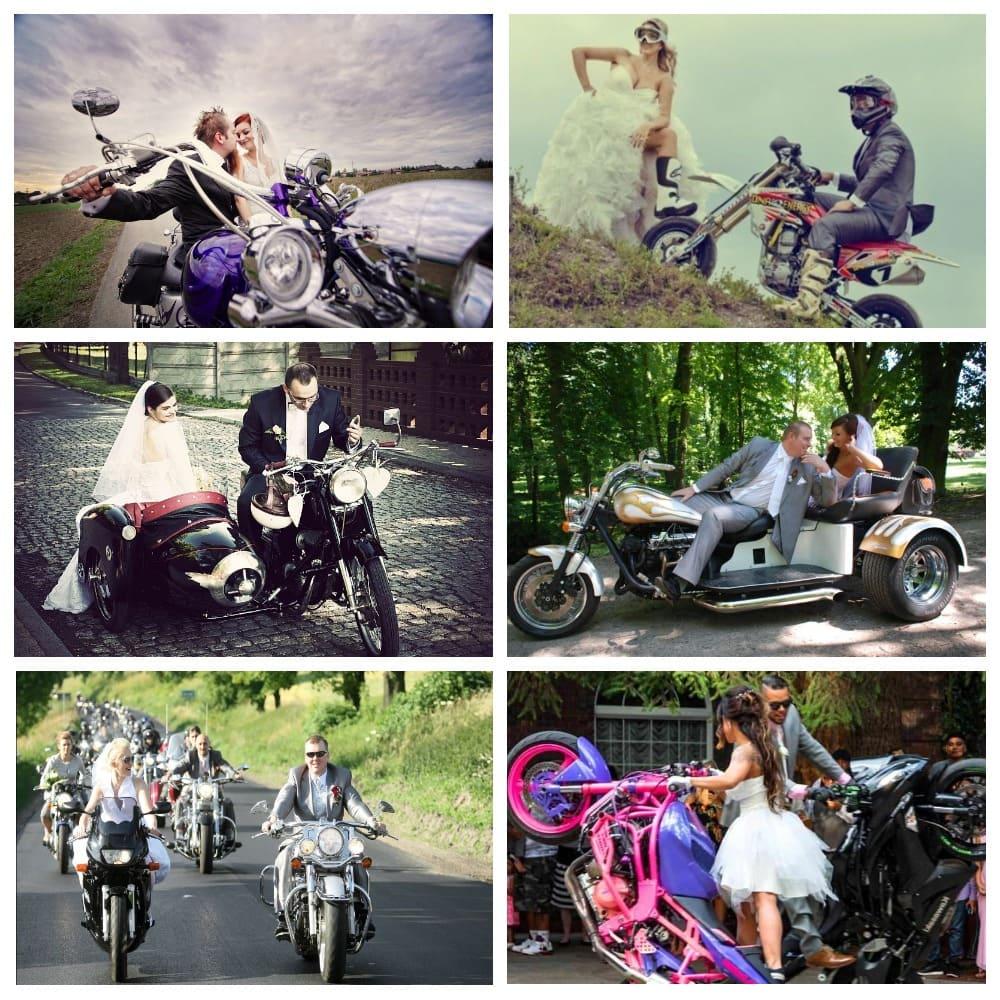 Мотоцикл на свадьбу