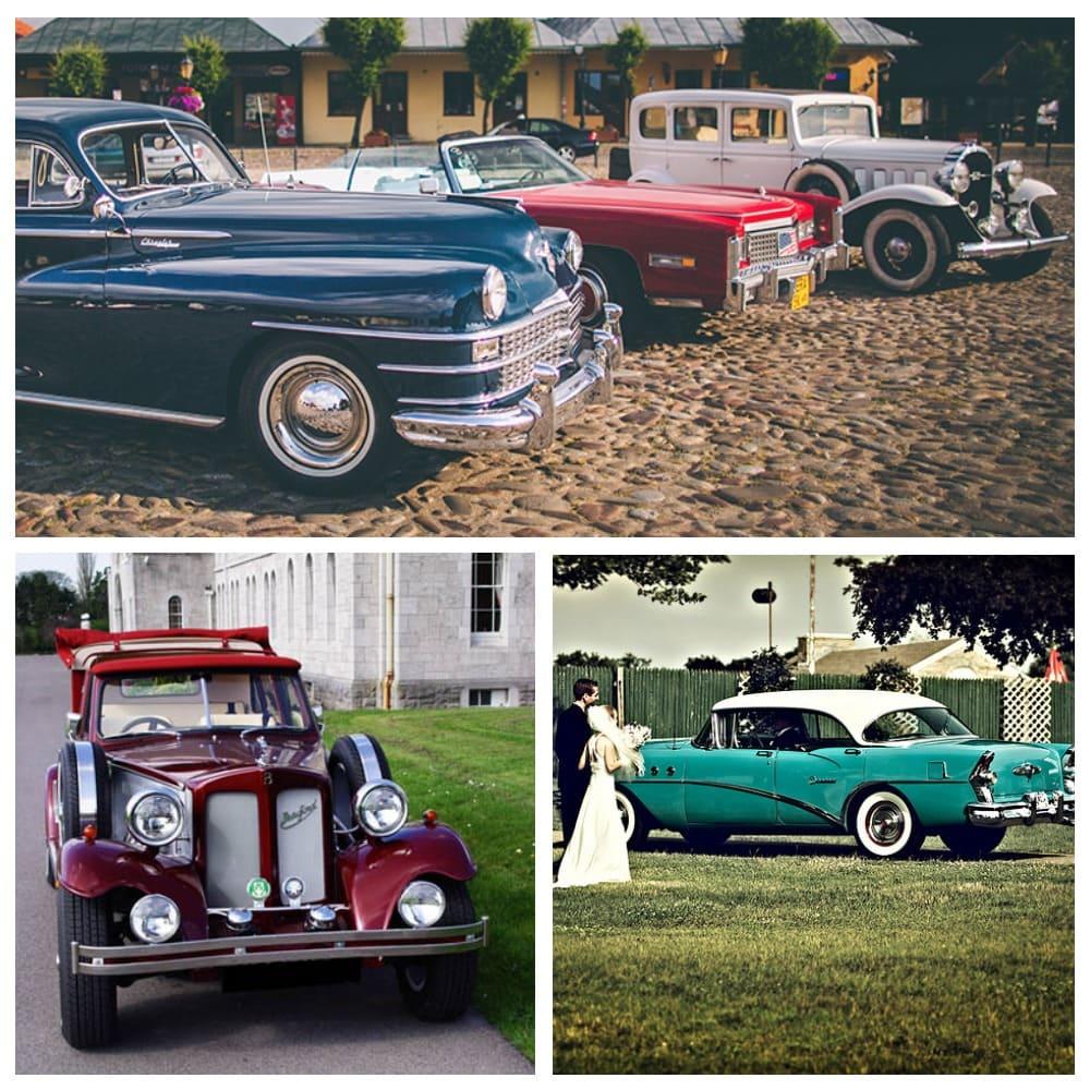 Ретро-авто для свадьбы