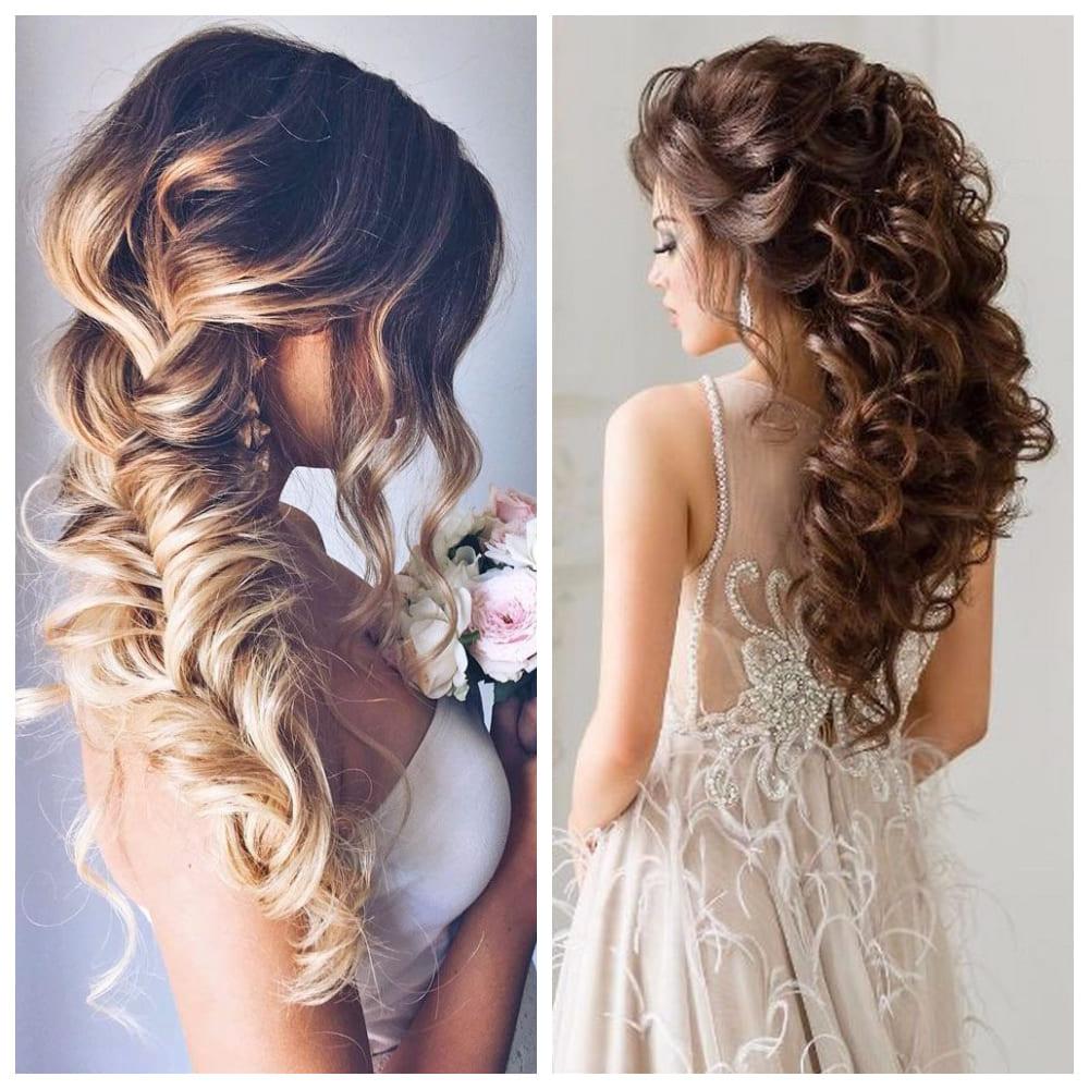Роскошные волосы невесты