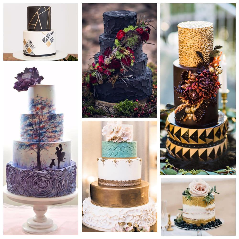 Свадебный торт: модные тенденции