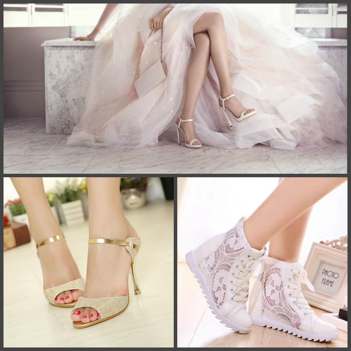 Свадебная обувь невесты