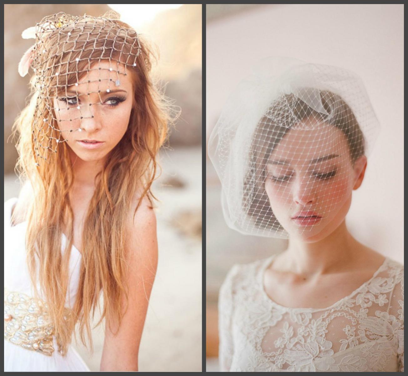 Белоснежная вуаль невесты