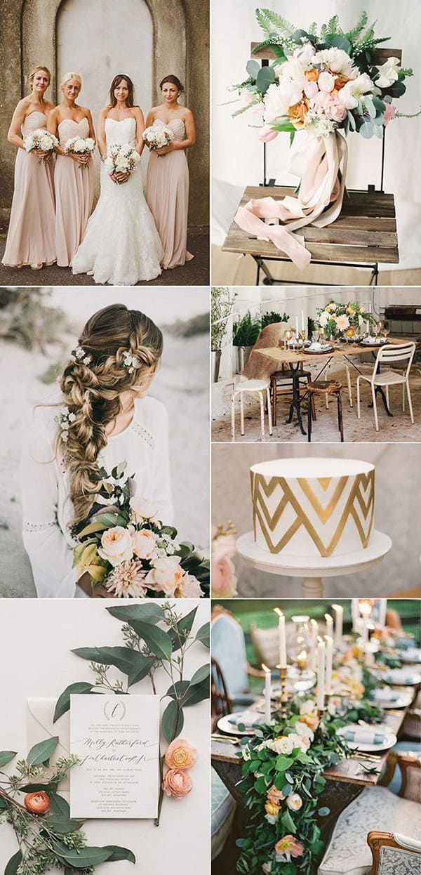 Цвет свадьбы — металлик